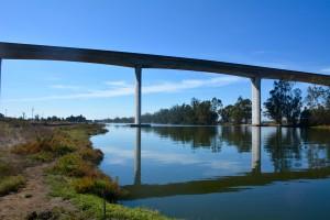 Approaching the Bridge