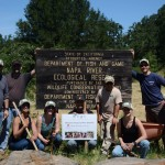 Treasury Wine Estates helps at the Napa River Ecological Reserve